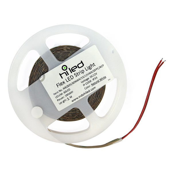 harga Hiled indoor flex led strip light dc12v - natural white [1101a8020753] Tokopedia.com