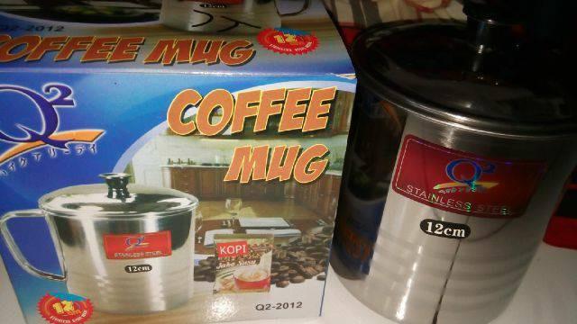 harga Mug stainless steel besar 12 cm muat 1 liter lebih Tokopedia.com