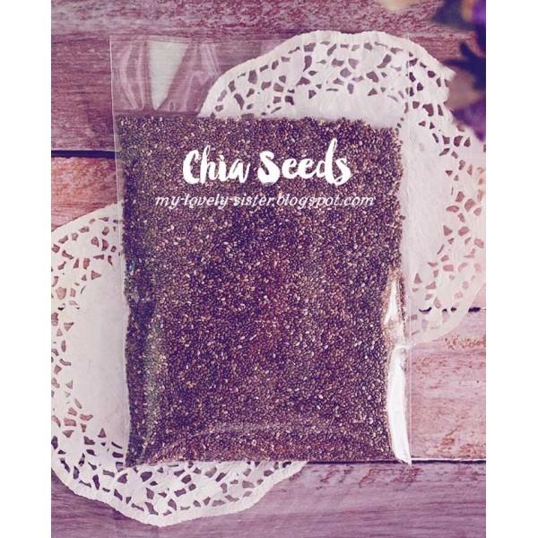 harga Chia seeds organic super food 100gr Tokopedia.com