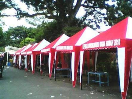 Jual Tenda Cafe Ukuran 3x3 Mtr Tenda Jualan Tenda Piramid Kerucut Kota Bogor Keisha Store Tokopedia