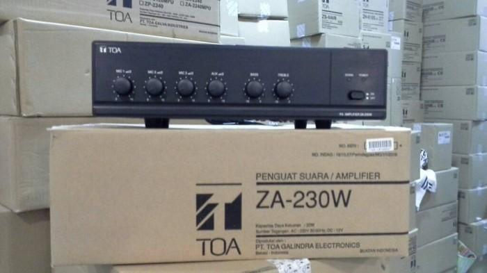 harga Mixer ampli toa za 230w ( original ) Tokopedia.com