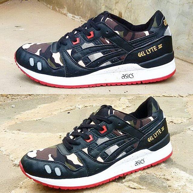 Jual Sepatu Asics GEL-Lyte III For Man (Black Army) - Mr Sepatu ... 8a3d14f81