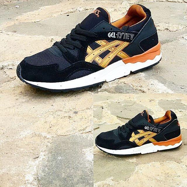 ... inexpensive sepatu asics gel lyte v black tan for man 6ed1e c8a35 76a1718e7f