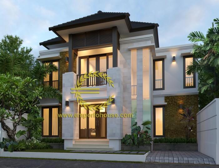 Jual Desain Rumah 2 Lantai 4 Kamar Lebar 11 Type 120