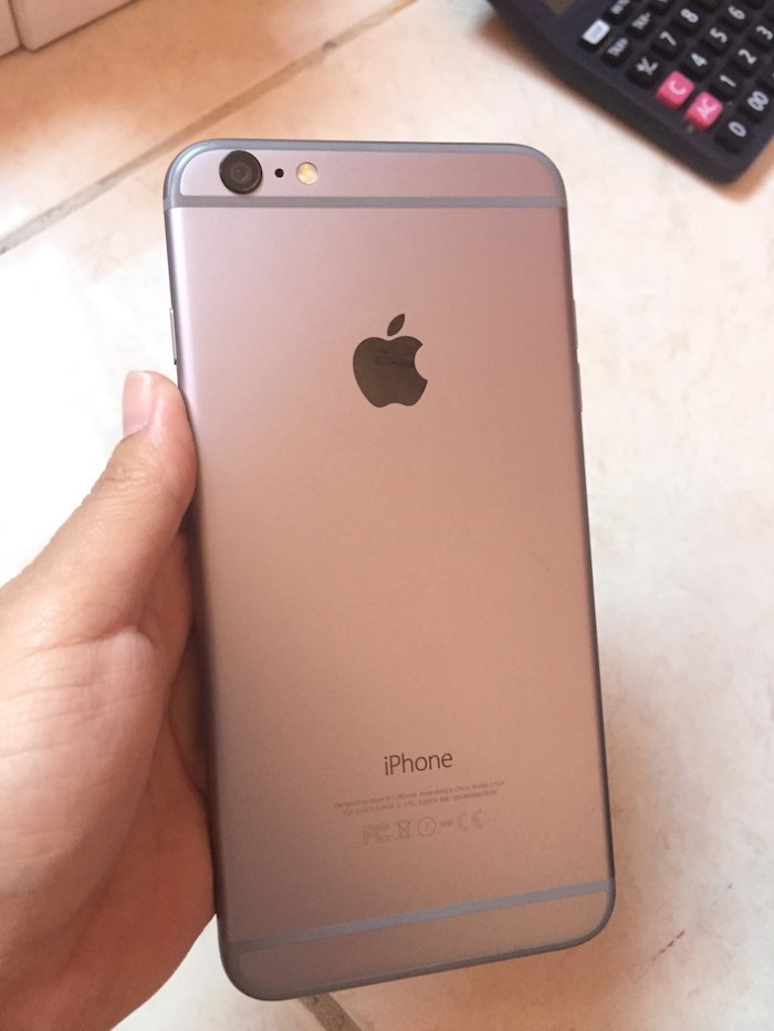 Jual iPhone 6 plus grey 16GB second bekas fullset mulus ... 6c02ec1934