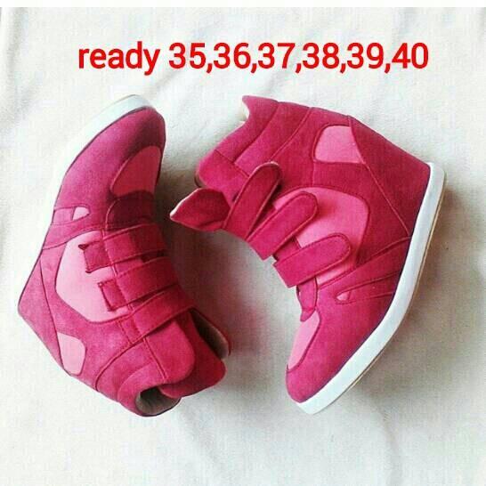harga Sepatu wanita (sneaker wedges  wedges didalam Tokopedia.com