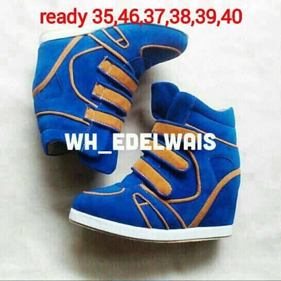 harga Sepatu wanita sneaker wedges mondelo Tokopedia.com