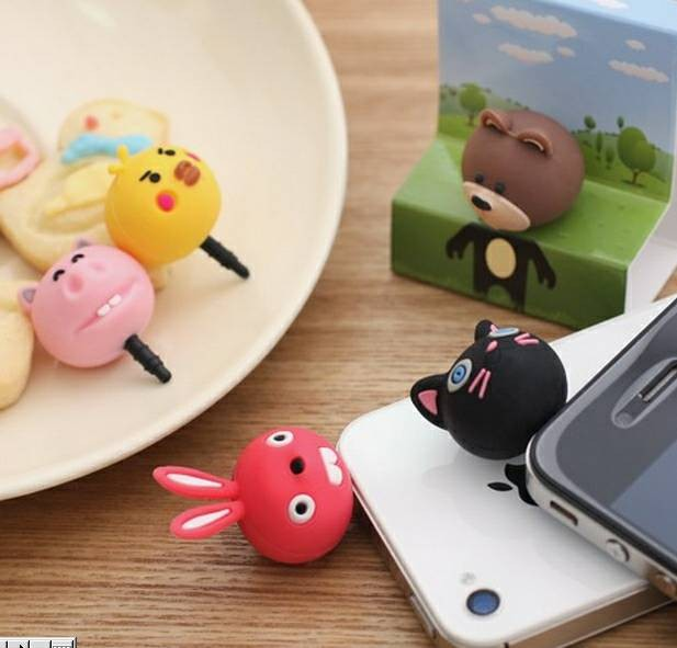 harga Cartoon animal dust plug pluggy ear plug binatang kartun lucu anime Tokopedia.com