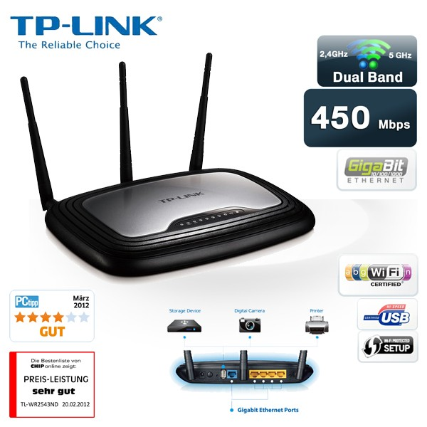 TP-LINK TL-WR2543ND Router Drivers Windows 7