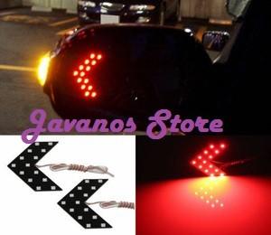 harga Led sein spion mobil tanda panah merah 14-smd led Tokopedia.com