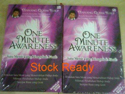 harga One minute awareness ( nanang qosim y ) Tokopedia.com