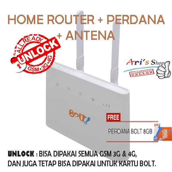 harga Home router huawei b310 bolt 4g lte unlock gsm 3g 4g perdana - modem Tokopedia.com