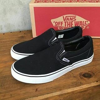 Jual Sepatu Vans Slip On Premium Import Slop Santai Made