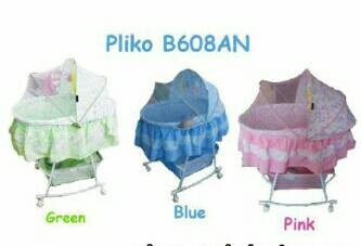 harga Pliko oval baby bed Tokopedia.com
