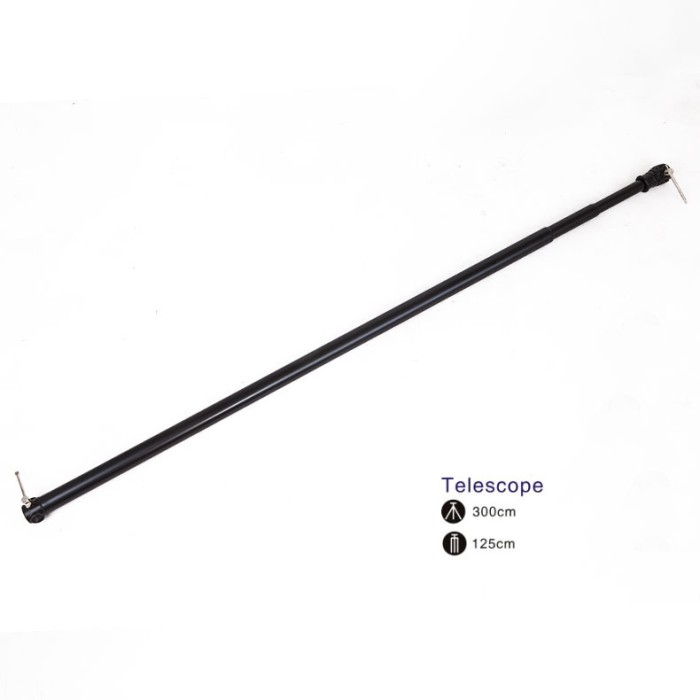 harga Background telescopic adjustable crossbar holder 3.0m - 3 sections Tokopedia.com