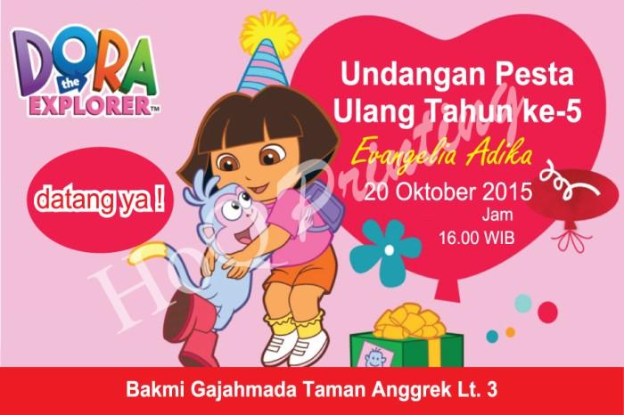 Jual Kartu Undangan Ulang Tahun Anak Perempuan Dki Jakarta