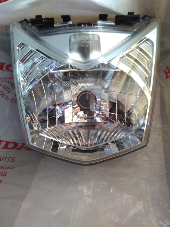 harga Reflektor / lampu depan beat fi original honda ( ahm ) Tokopedia.com