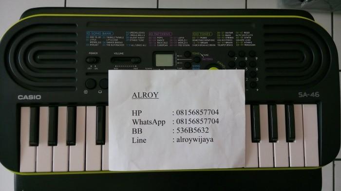 harga Mini keyboard casio sa-46 Tokopedia.com