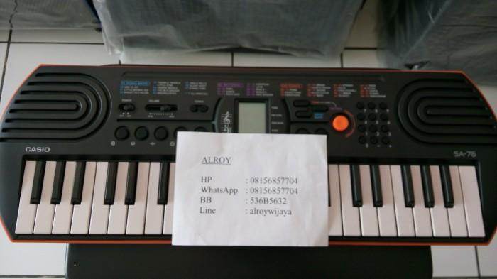harga Mini keyboard casio sa-76 Tokopedia.com