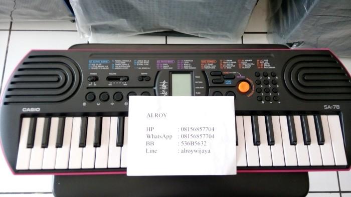 harga Mini keyboard casio sa-78 Tokopedia.com