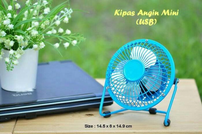 ... harga Usb fan mini/usb fan besi/kipas angin/pendingin flexible Tokopedia.