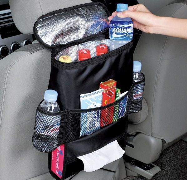 harga Tas gantung belakang jok mobil dengan kantong aluminium foil Tokopedia.com