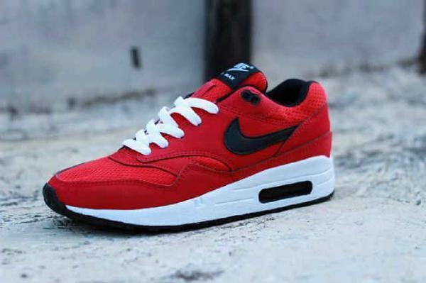 Jual Sepatu Nike Airmax One Sport Merah Hitam Size Cewek Cowok Murah ... f72e94e63c