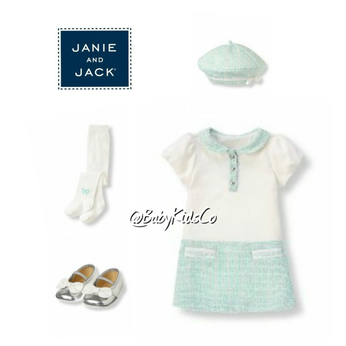 harga Premium branded janie and jack colorblock sparkle dress/baby/gaun/gown Tokopedia.com