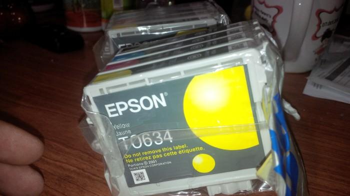 harga Tinta epson t0631 t0632 t0633 t0634 original Tokopedia.com