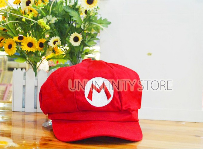 harga Acht0001 topi super mario bros hat costume cosplay Tokopedia.com