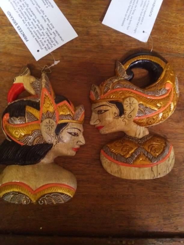 Jual Hiasan Dinding Wayang Arjuna Srikandi Kota Bandung Nafishabakeshop Tokopedia