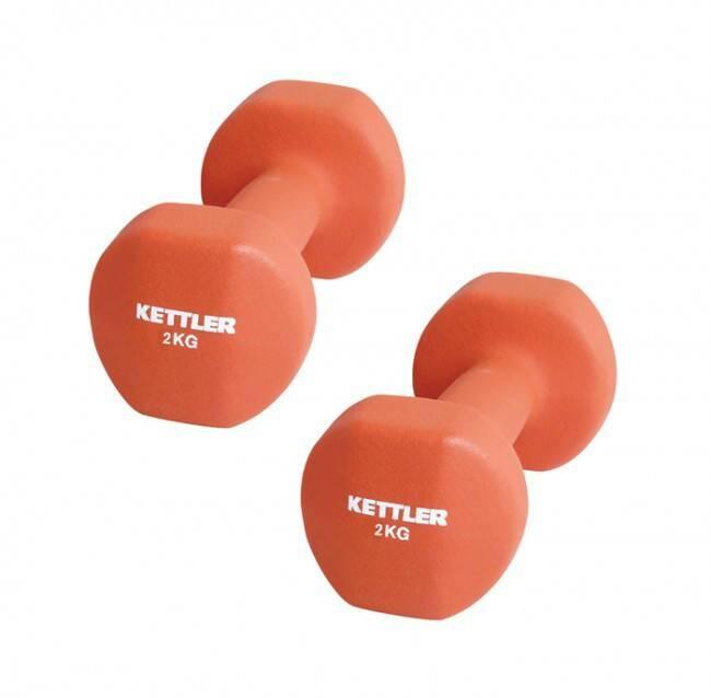 harga Kettler neoprene dumbell (4kg/pair) orange Tokopedia.com