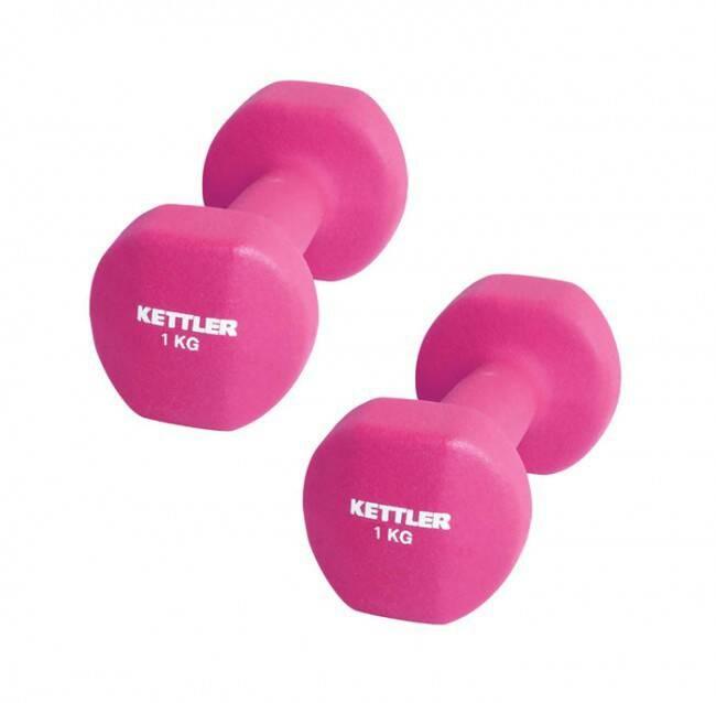 harga Kettler neoprene dumbell (2kg/pair) pink Tokopedia.com