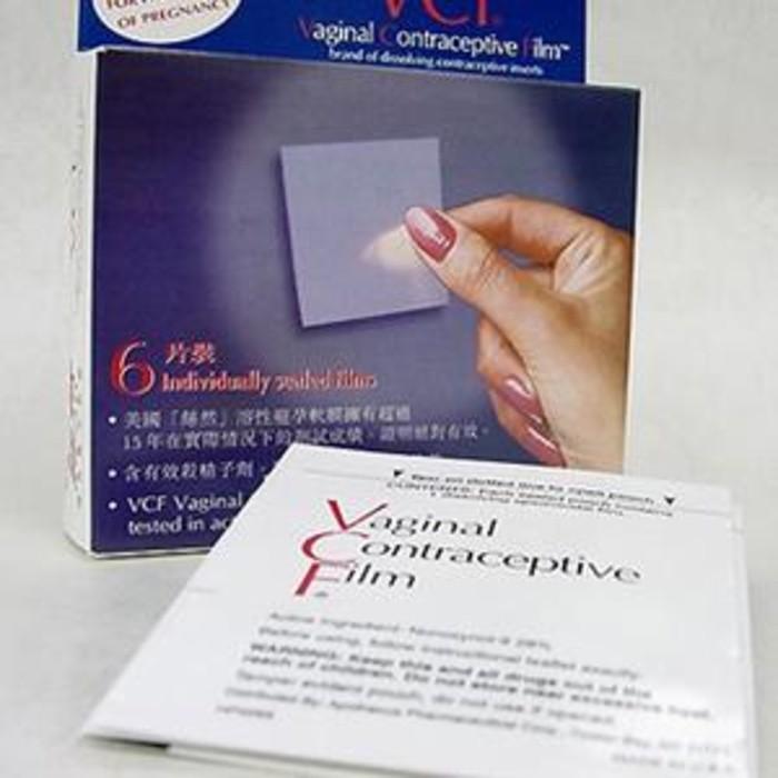 VCF - Vaginal Contraceptive Film