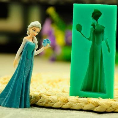 harga Cetakan silikon tebal lunak motif ratu elsa  frozen Tokopedia.com