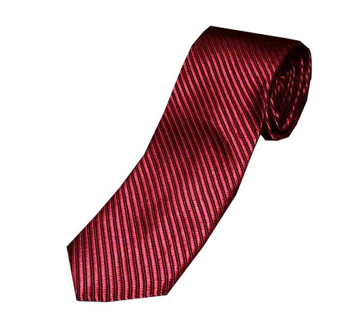 Vm - dasi polos corak merah maroon slim 3 inch - red tie ...