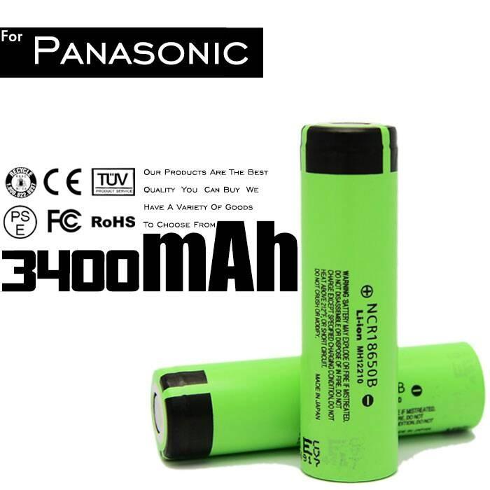 harga Panasonic ncr18650b | 3400mah | 18650 baterai / battery | 4.87a Tokopedia.com
