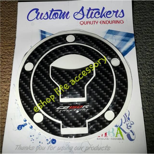 Foto Produk Aksesoris fuelcap fuel lid cap pad honda Cb150r cb150 cb 150 Facelift dari e-shop life accessory