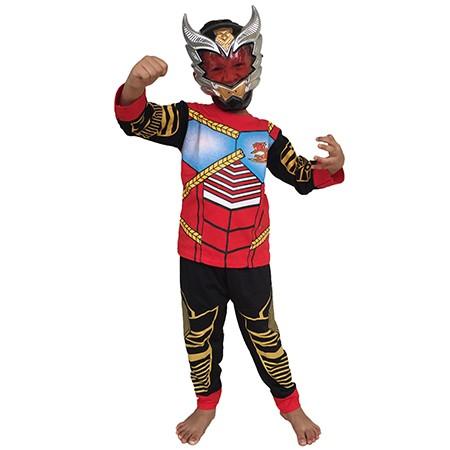 Foto Produk Baju Anak Kostum Topeng Superhero Satria Garuda Bima X Bima-X - Size 6 dari BelalangKupuKupu