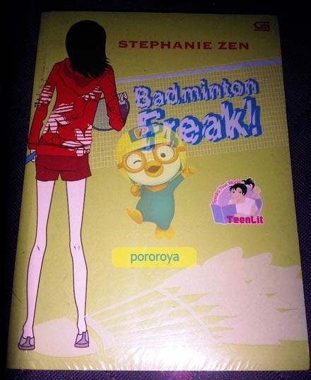 harga Novel teenlit stephenie zen - badminton freak Tokopedia.com
