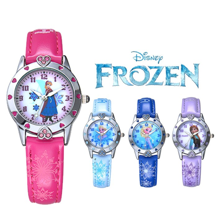 ... Watch Anna Source · FZ571 J Disney Frozen ORIGINAL Jam Tangan Anak HOT PINK Anna Elsa