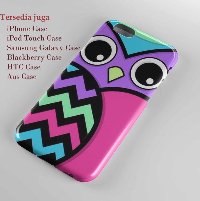 Cute Girly Owls Wallpaperhard Case Iphone Semua Hp