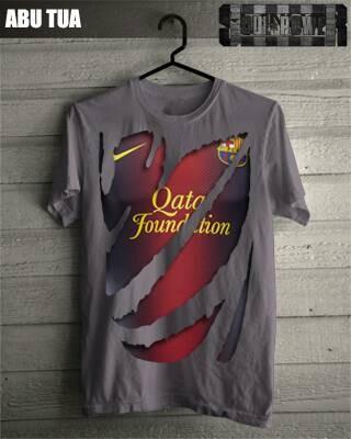 harga Kaos 3d barcelona jersey 3 original soulpowerstyle Tokopedia.com