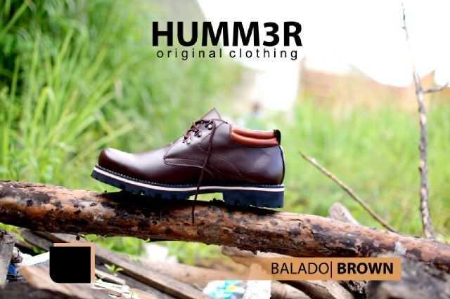 Sepatu Humm3r Low Boot Tracking Balado Brown