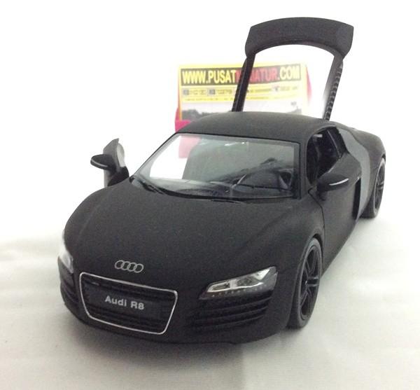 harga Audi r8 v10 (hitam doff) - skala 1:24 - welly ( diecast - miniatur ) Tokopedia.com