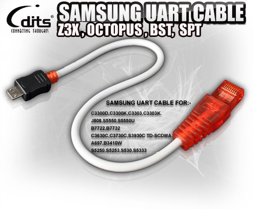 Jual Kabel Flash Cable Samsung Champ Uart Micro Z3x