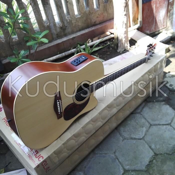 Gitar Jumbo Natural Aw6 Mantap Harga
