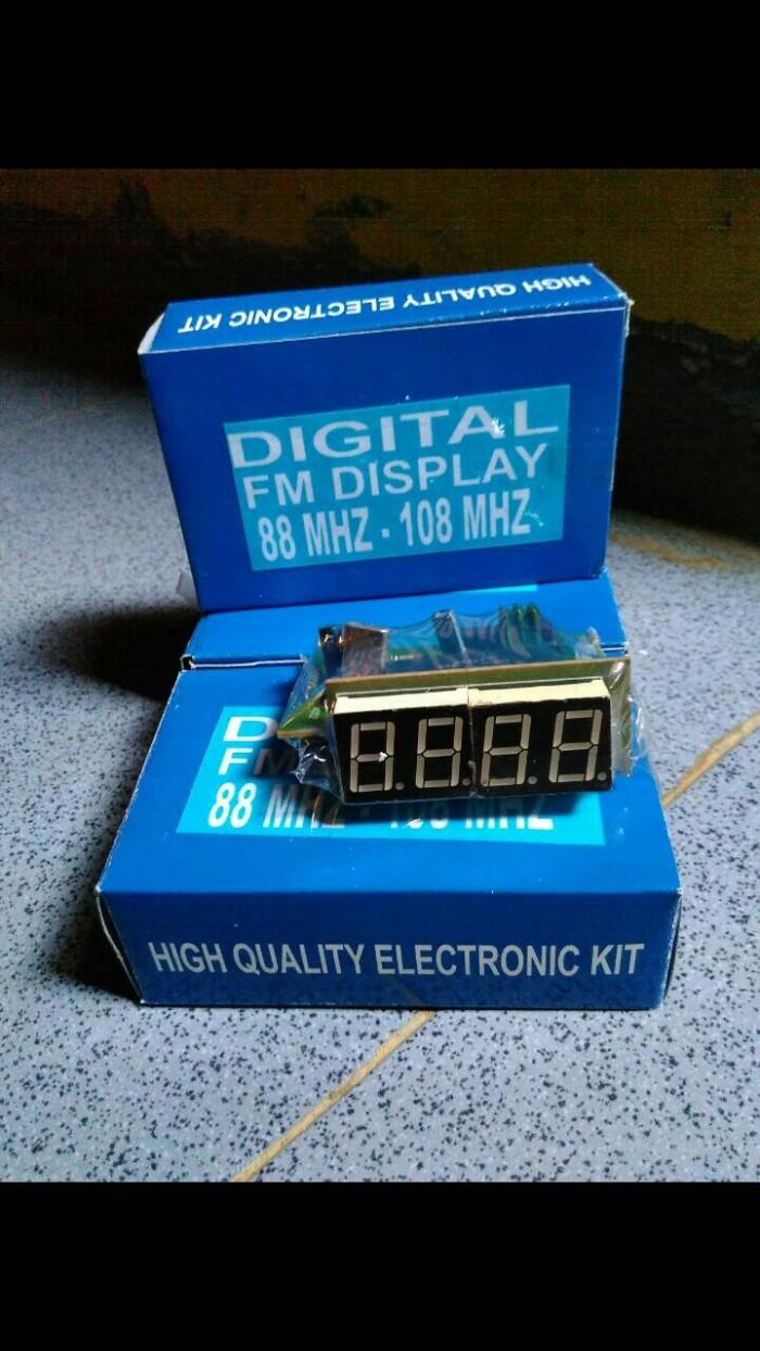 Jual Digital Display Frekuensi Counter Fm Ervie Store Tokopedia Kit Frequensi Untuk Tuner