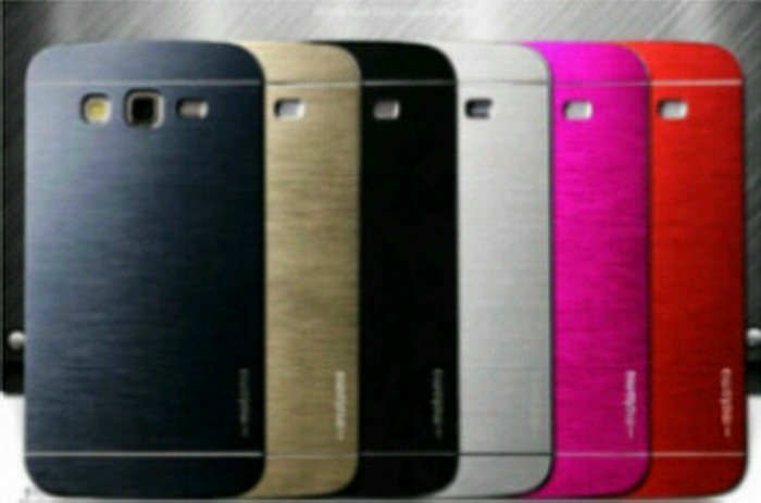Hardcase Samsung Galaxy V/G313 Motomo Metal Case Aluminium / Softcase