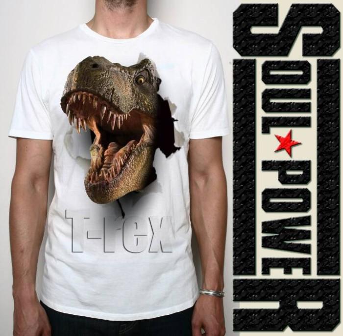 harga Kaos 3d dinosaurus t-rex original soulpowerstyle Tokopedia.com